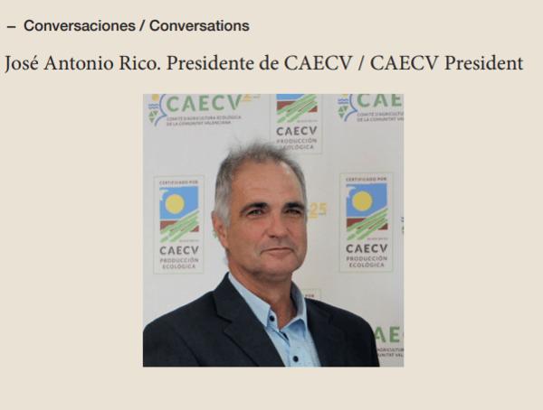 Conversaciones ESAO Guide: José Antonio Rico, presidente del CAECV