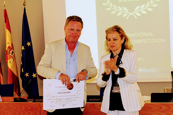 entrega premio esao awards ESAO castillo de canena