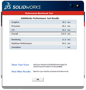 SOLIDWORKS Rx results