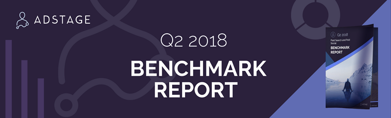 AdStage's Q2 2018 Paid Media Benchmark Report