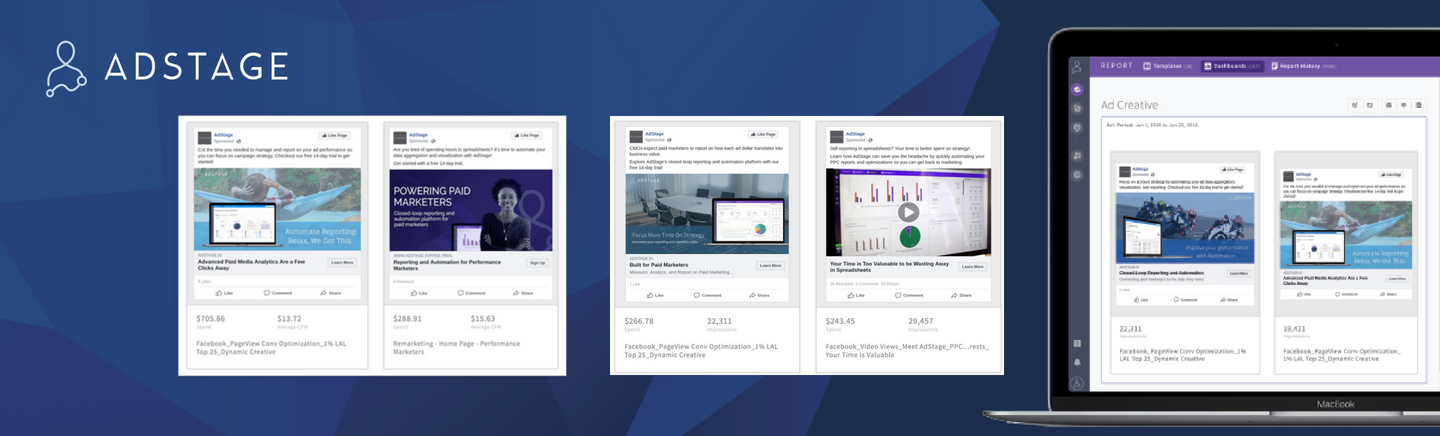 Save Hours on Creative Reporting with the New Ad Creative Widget