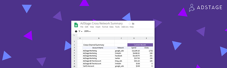 AdStage Announces the Launch of AdStage for Google Sheets