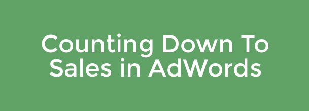 This Week in Ad Tech: AdWords Countdowns, Twitter Carrier Targeting, Competitive Advertising & More...