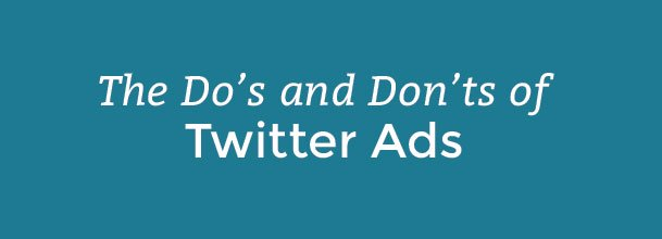 Do's and Don'ts of Twitter Ads, Google DoubleClick Outage, Competitive PPC & More...