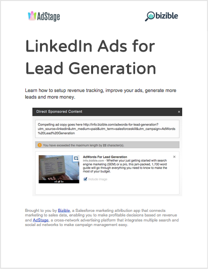 Free Guide: LinkedIn Ads For Lead Generation