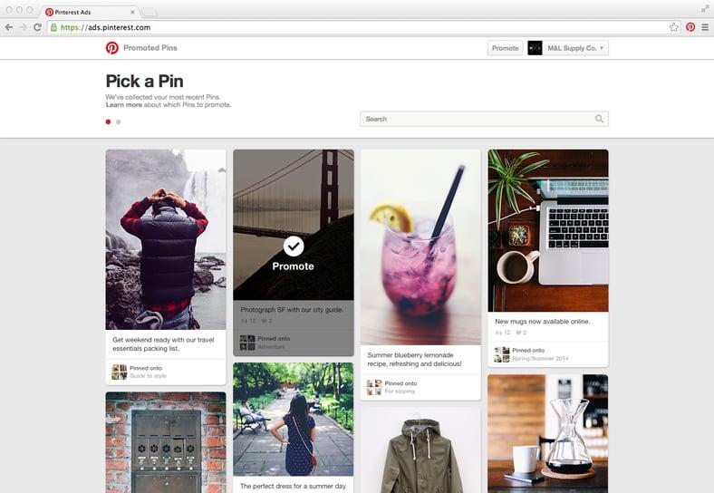 Pinterest Announces Self-Serve Promoted Pins