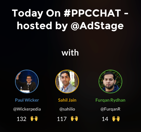 Keep the #ppcchat Discussion Going with Today on PPCchat