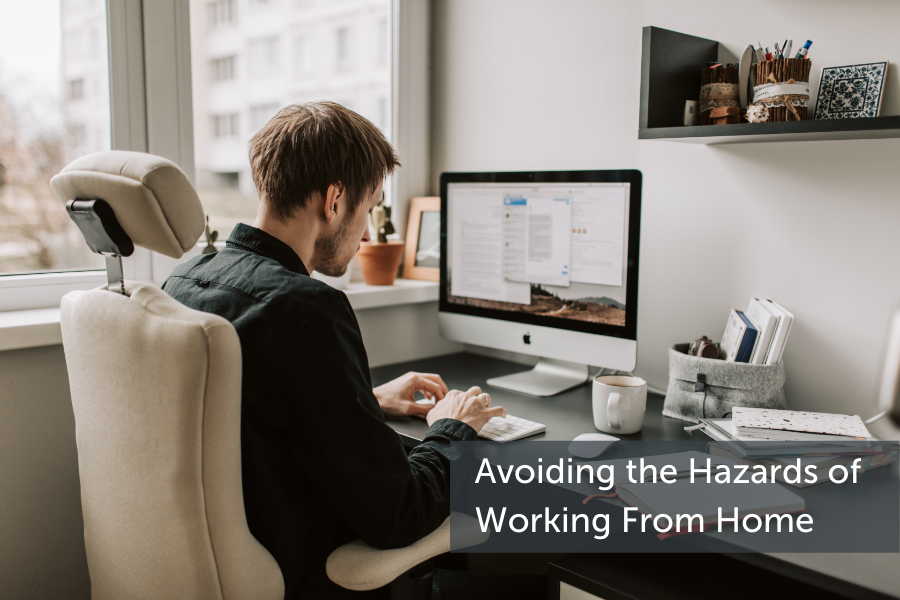 How to avoid the hazards of working from home.