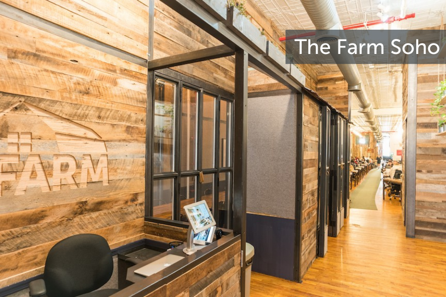 The Farm Soho in NYC offers flexible workspaces for enterprise employees who Work From Anywhere