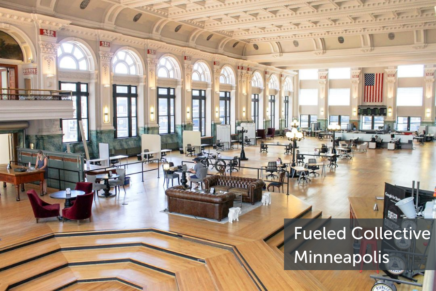 Minneapolis-based Fueled Collective offers flexible workspaces for enterprise employees who Work From Anywhere