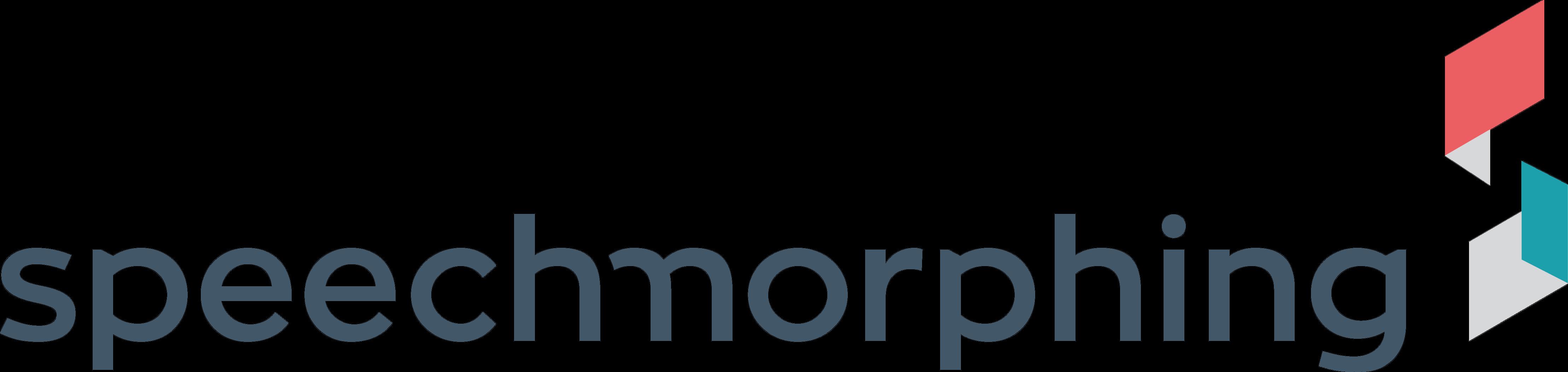 Speech Morphing Logo