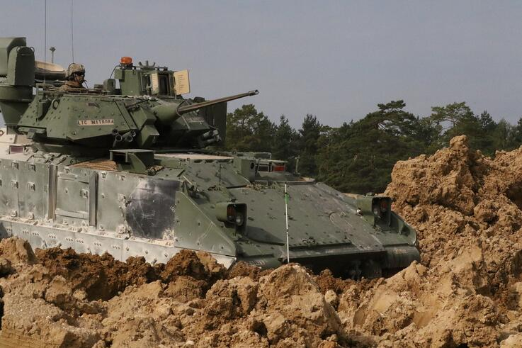 What is a Bradley Fighting Vehicle and what does it do?