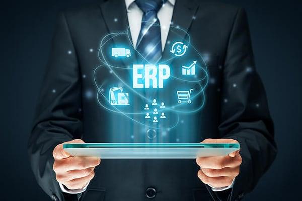 How an ERP system creates value