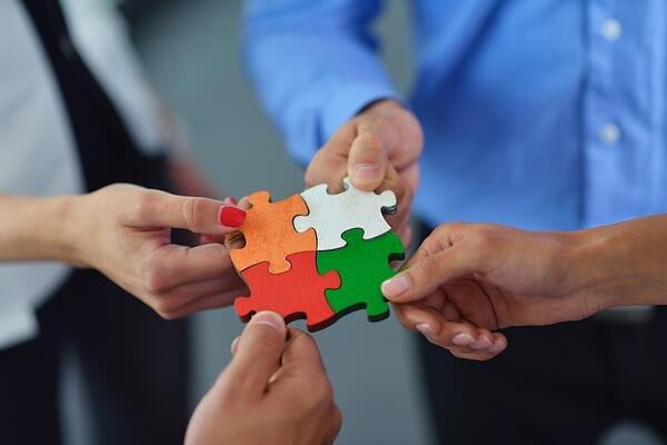 What are the pros and cons of working with an implementation partner?