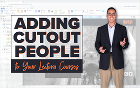 Adding Cutout People to Your Lectora Courses