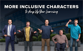 More Inclusive Characters to Amp Up Your Learning