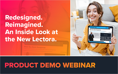 Redesigned. Reimagined. An Inside Look at the New Lectora.