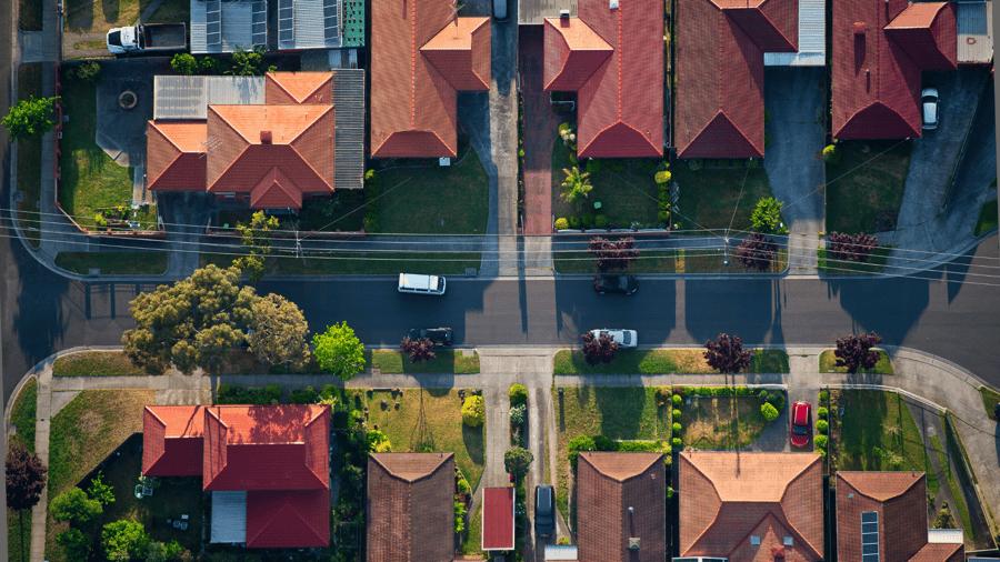 ciudad o suburbio