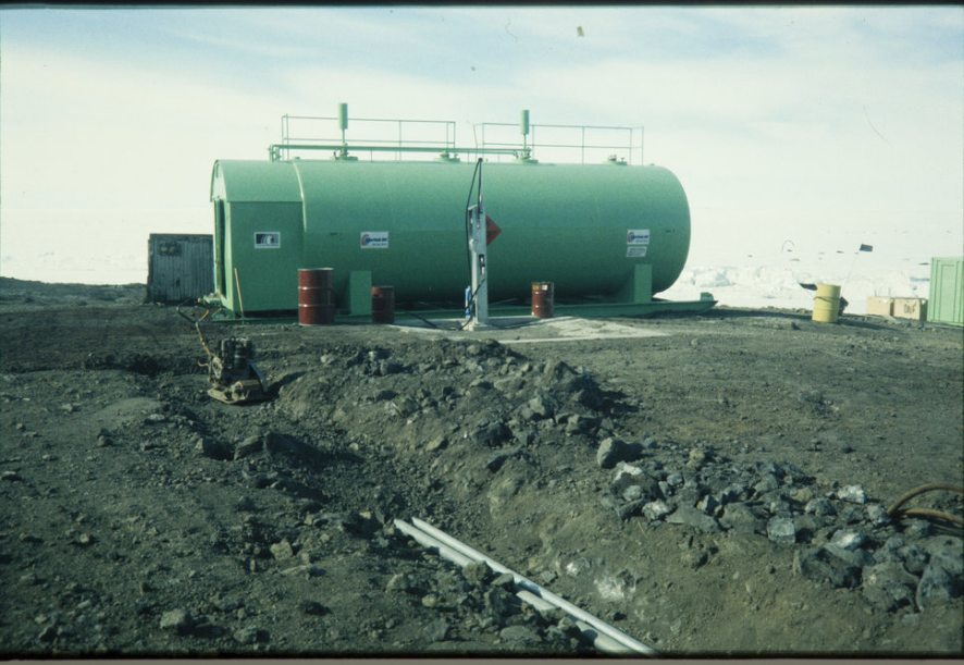 SuperVault Cylindrical - Scott Base Antarctica