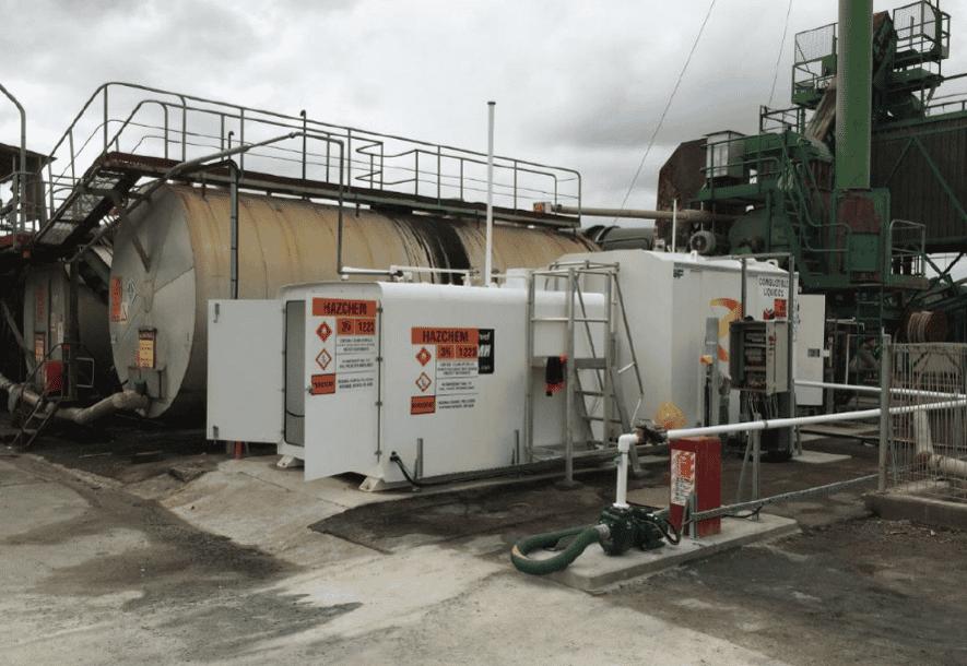 SuperVault Rectangular - Downers Bitumen Plant Whangeri