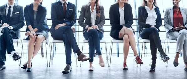 Attracting Talent Recruiting Interview Waiting Room Stock Photo