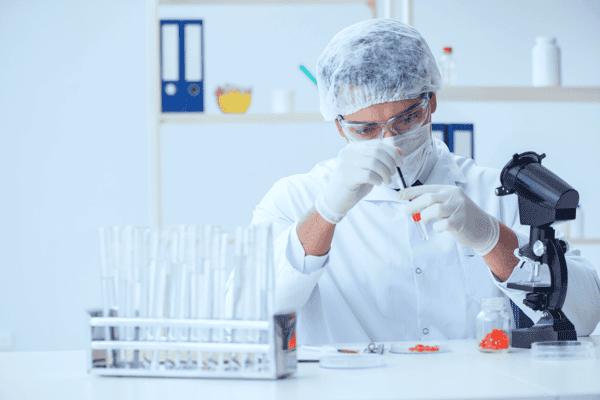 Doctor Testing New Drugs