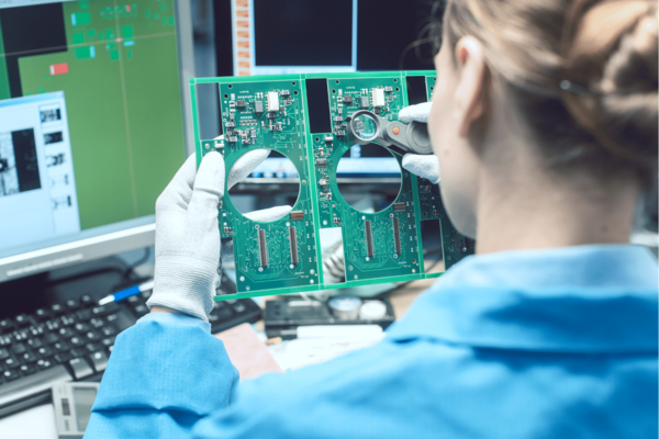 Optical Quality Control and Assembly Inspection of an Electronic Product