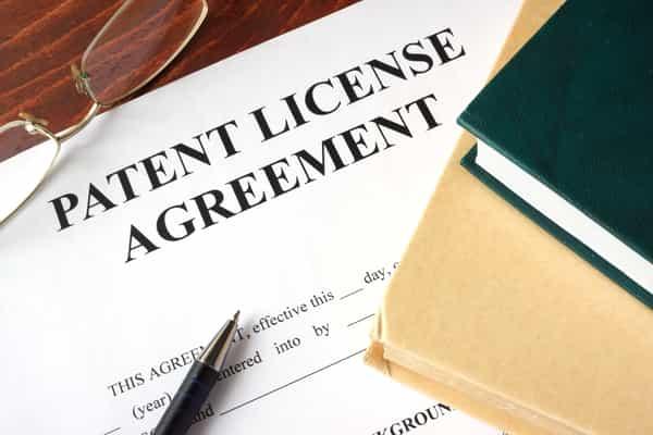 Patent License Agreement Adobe Stock Photo