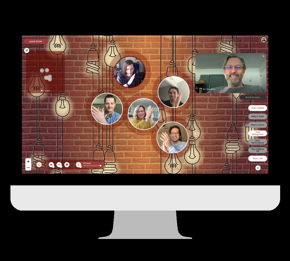 preciate social live performance in desktop frame-1