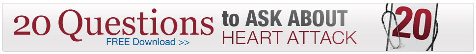 Question to Ask About Heart Attack