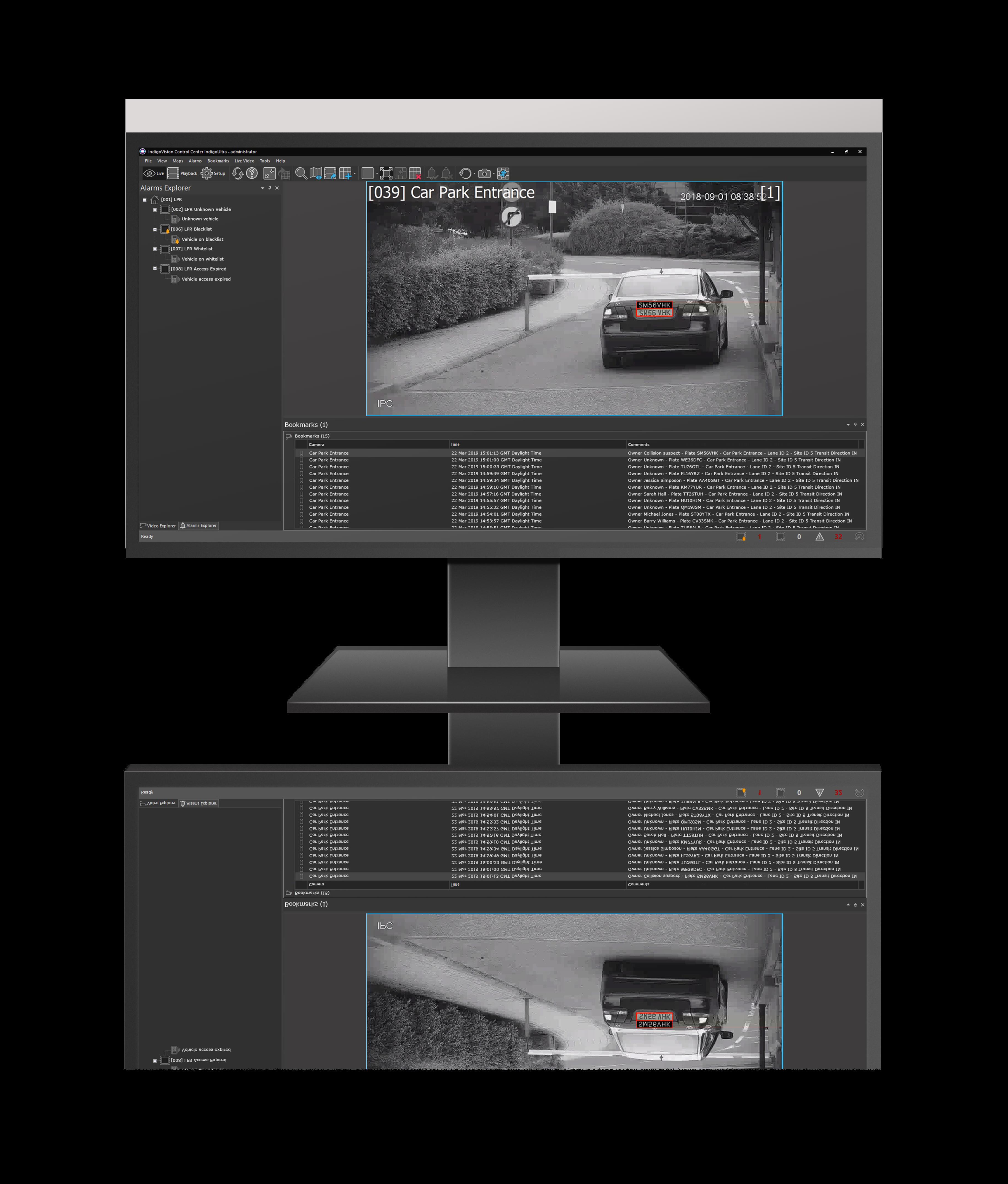 IndigoVision LPR powered by InnoWare_reflection