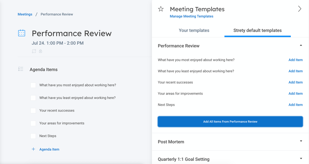 image representing A Performance Review Template that Really Works
