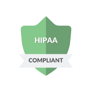 A green badge noting that ZenQMS is HIPAA compliant