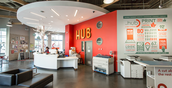 The HUB at West Canadian Digital Imaging