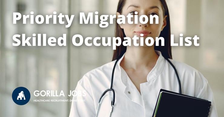 Gorilla Jobs Blog Priority Migration Skilled Occupation List PMSOL