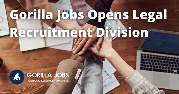 Gorilla Jobs Blog Opening Legal Recruitment Group of Hands Touching
