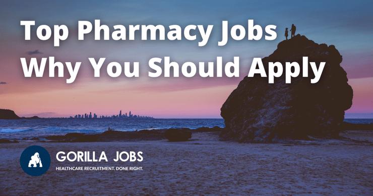 Gorilla Jobs Blog 3 Top Pharmacy Jobs Night Skyline Of Gold Coast City From A Beach