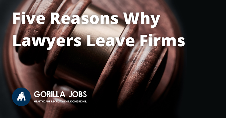 Gorilla Jobs Blog Reasons Why Lawyers Leave Firms Sad Pug In Yellow Jacket