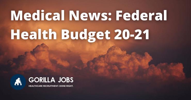 Gorilla Jobs Blog Recap Federal Health Budget 20 21 Orange And Red Dark Clouds Forming