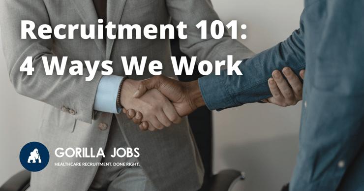 Gorilla Jobs Blog Recruitment 101 4 Ways Gorilla Jobs Works Two Men Shaking Hands After Successful Job Interview