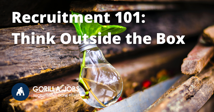 Gorilla Jobs Blog Think Outside the Box In Your Career Plant Growing Inside Empty Light Bulb with Water