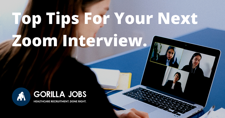 Gorilla Jobs Blog Top Tips For Next Zoom Interview
