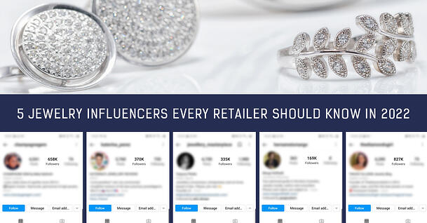 Most successful jewelry influencers in the world in 2022
