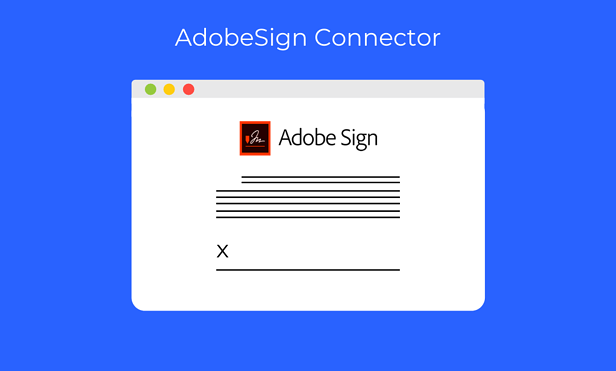 AdobeSign Connector