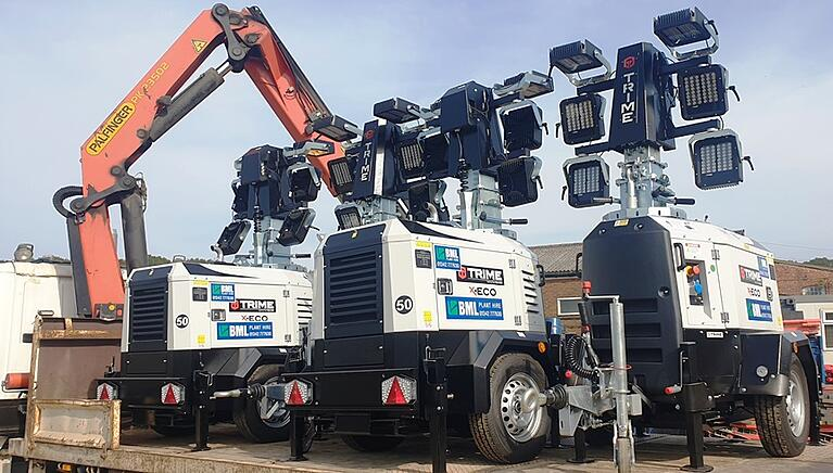 BML Plant Hire go for more X-ECO lighting towers
