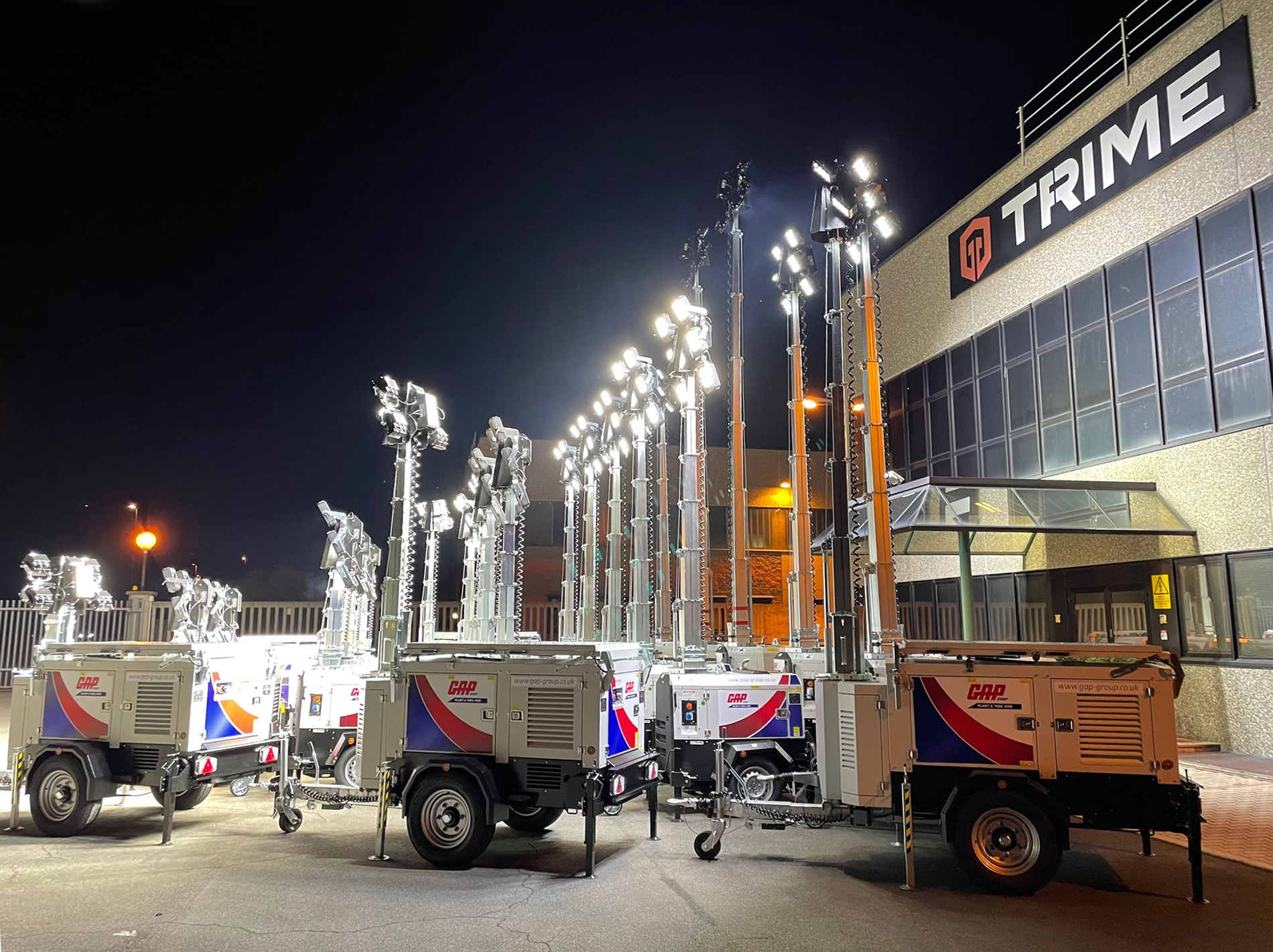 GAP Hire Solutions add more of our fuel-free lighting towers