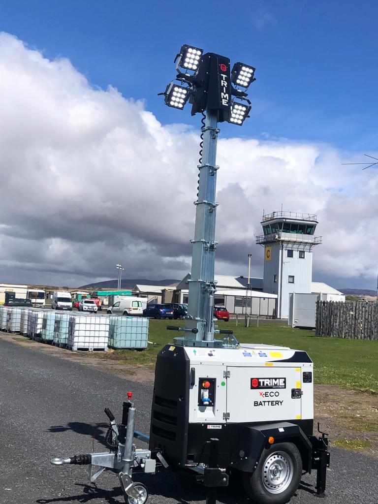 The Highlands and Islands Airports invest in our lighting towers