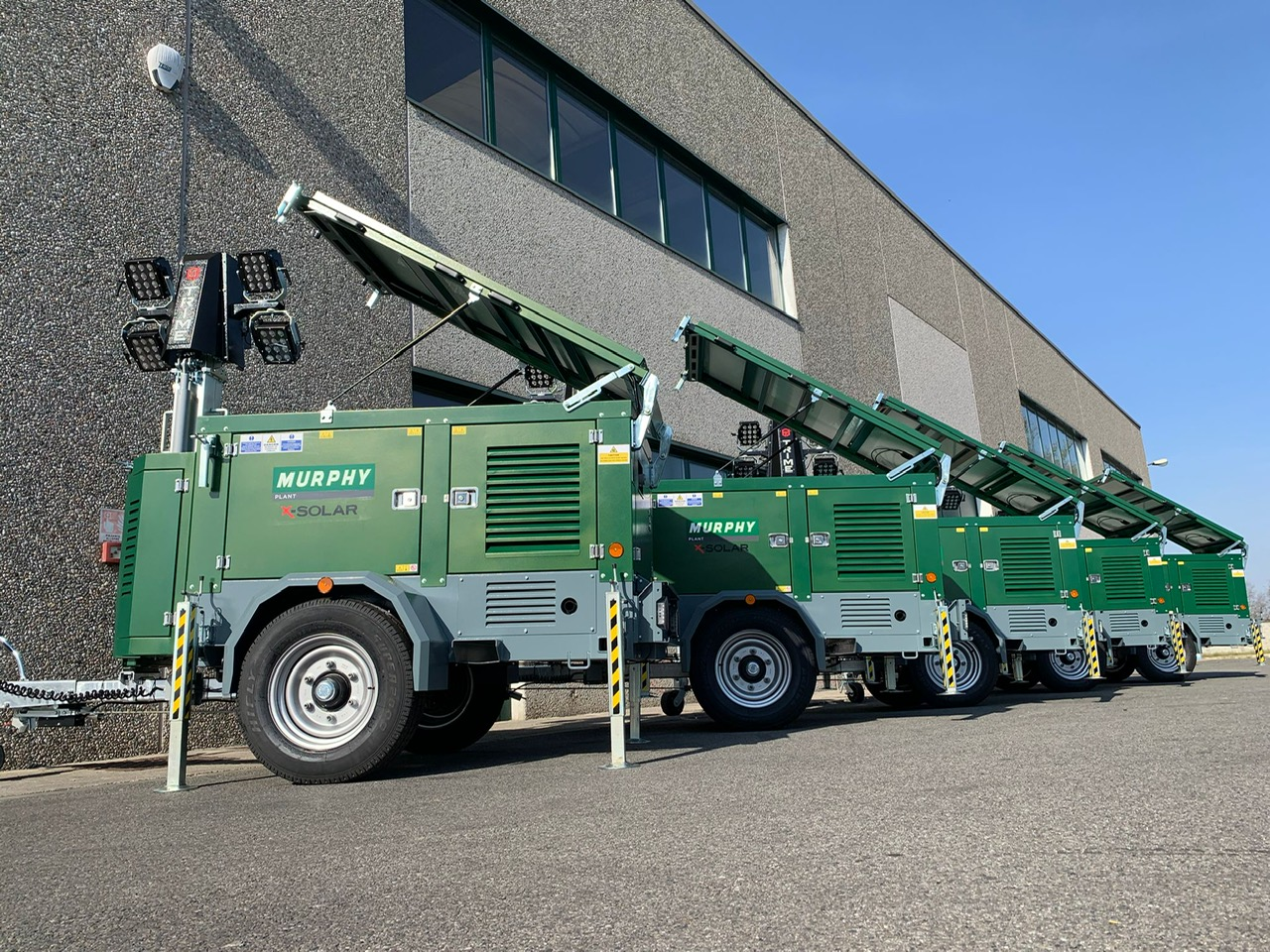 Murphy Plant adds more lighting towers