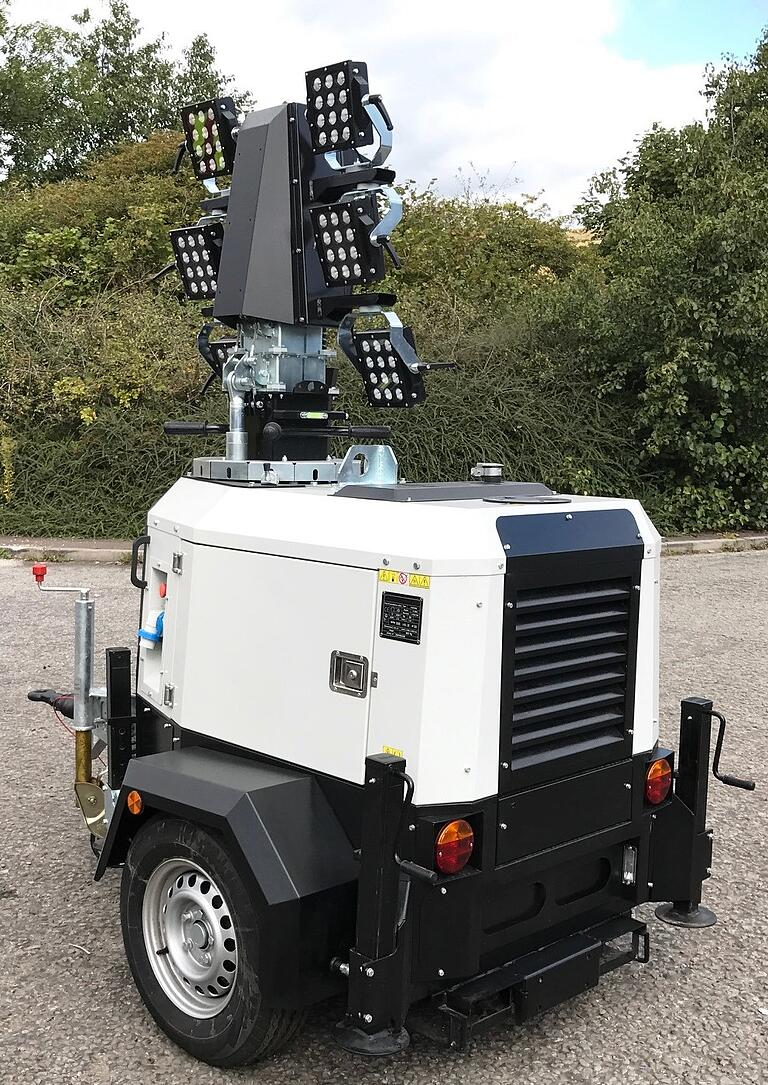 X Rated! Specialist Rental Firm, Christian Faversham Group goes for X-ECO Lighting Towers