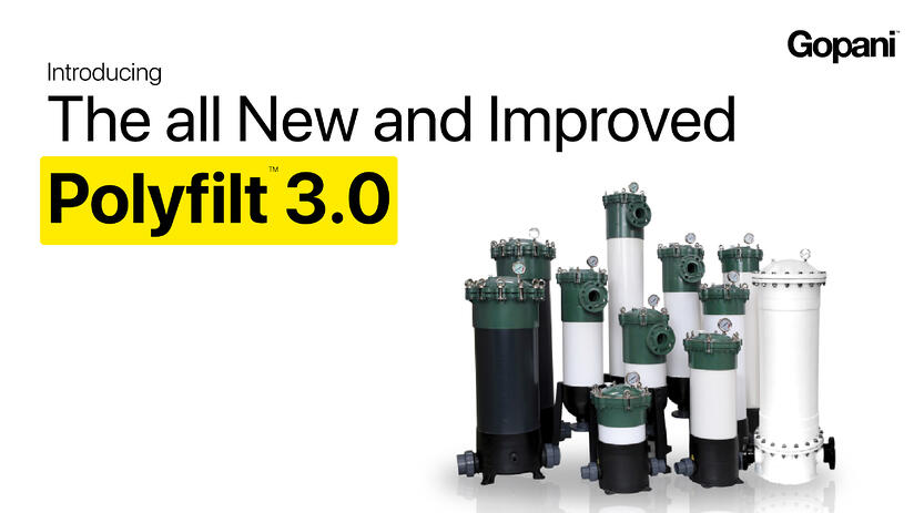Replace your Stainless Steel Housing with all New Polyfilt 3.0